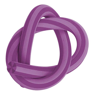 Ластик Brunnen 29970, d=1, 33см, гнущийся, фиолетовый