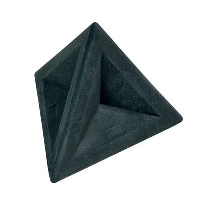 Ластик Brunnen 29974, 4,5х4,5х4см, треугольный, розовый