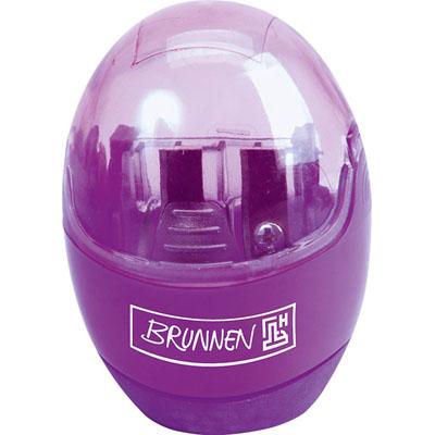 Точилка Brunnen 29879, двойная, корпус фиолетовый