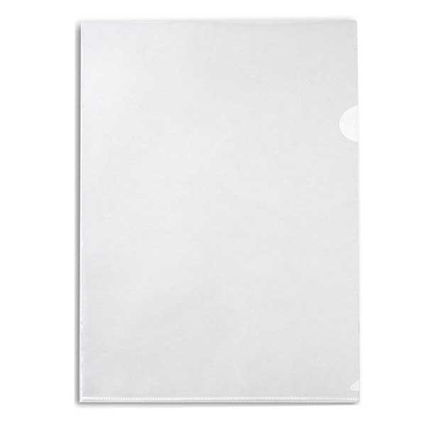 Папка-уголок Бюрократ A4, 100мкм, бесцветная