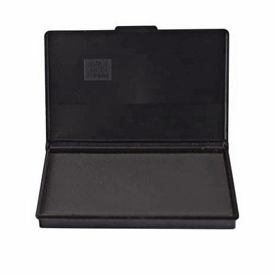 Штемпельная настольная подушка Trodat 9053, 160х90мм, черная, краска на водной основе