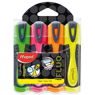 Maped Fluo Pep's Soft