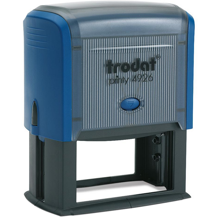 Оснастка для прямоугольной печати Trodat Printy 4926, 75х38мм, синяя