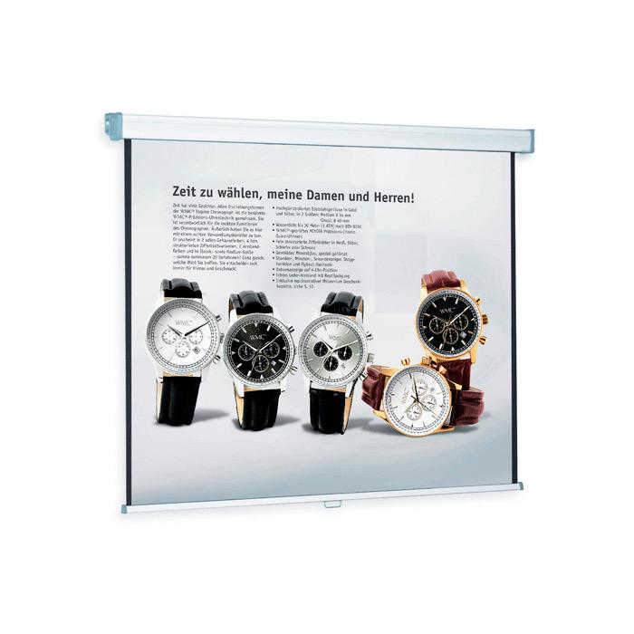 Экран для проектора настенный Magnetoplan Standart 14007303, 153х153 см