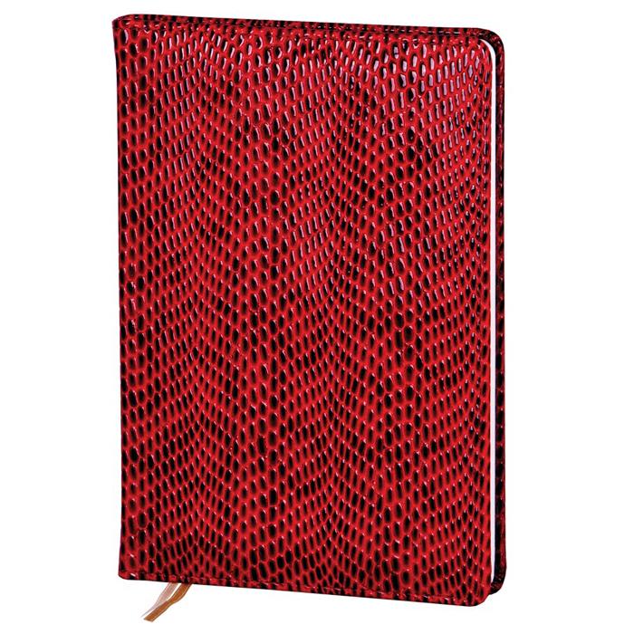 Ежедневник недатированный InFolio Granada, А6, 12 х 17см, 160 листов, бордовый