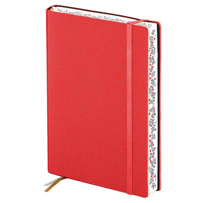 Ежедневник недатированный InFolio Froggy, А6, 12 х 17см, 160 листов, красный