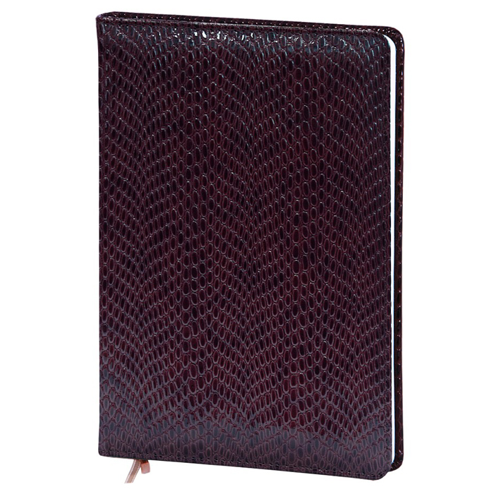 Ежедневник недатированный InFolio Granada, А6, 12 х 17см, 160 листов, шоколадный