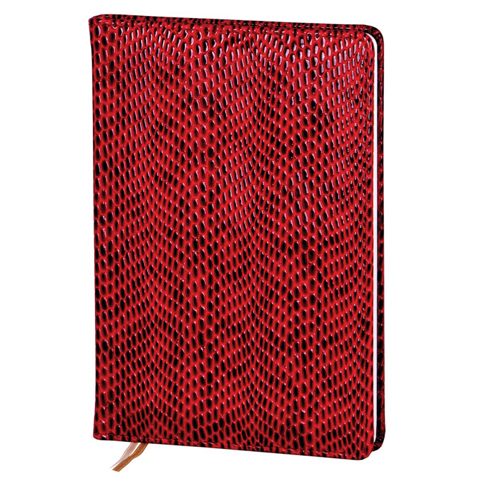 Ежедневник недатированный InFolio Granada, А5, 14 х 20см, 96 листов, бордовый