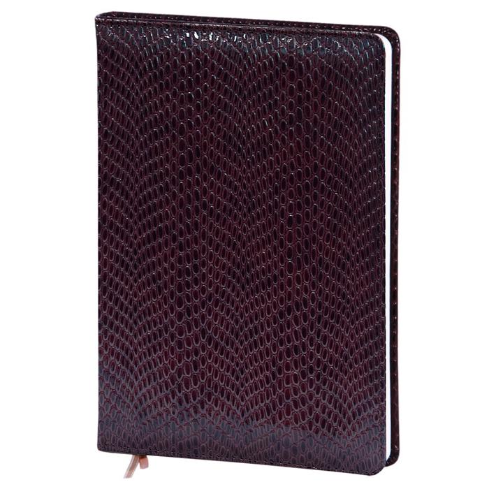 Ежедневник недатированный InFolio Granada, А5, 14 х 20см, 96 листов, шоколадный