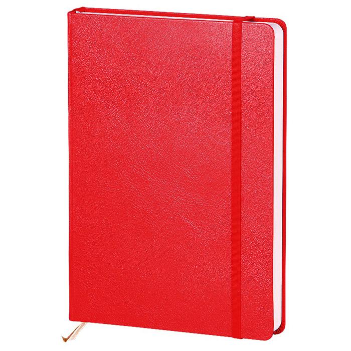 Ежедневник недатированный InFolio Euro business, А5, 12 х 17см, 160 листов, красный
