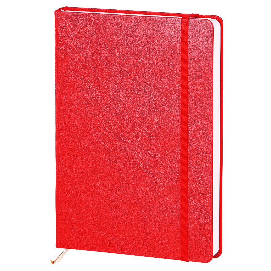Ежедневник недатированный InFolio Euro business, А5, 14 х 20см, 160 листов, красный