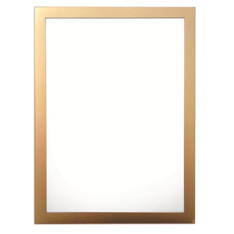 Настенная магнитная рамка Durable Magaframе 487230, А4, золотистая, самоклеящаяся, 2шт/уп, 487230