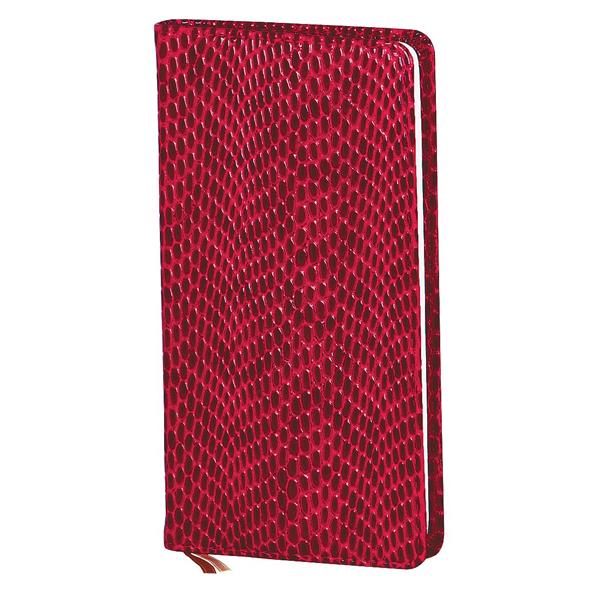 Записная книжка Infolio Granada, А6, 9х16см, 96л, бордовая