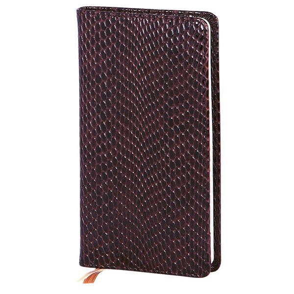 Записная книжка Infolio Granada, А6, 9х16см, 96л, шоколадная