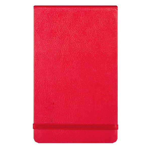 Записная книжка Infolio Euro business, А6, 10х15см, 96л, красная