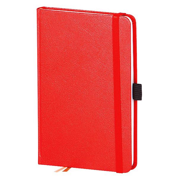 Записная книжка Infolio Euro business, А6, 9х14см, 96л, красная