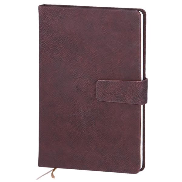 Записная книжка Infolio Gently, А5, 14х20см, 96л, бордовая