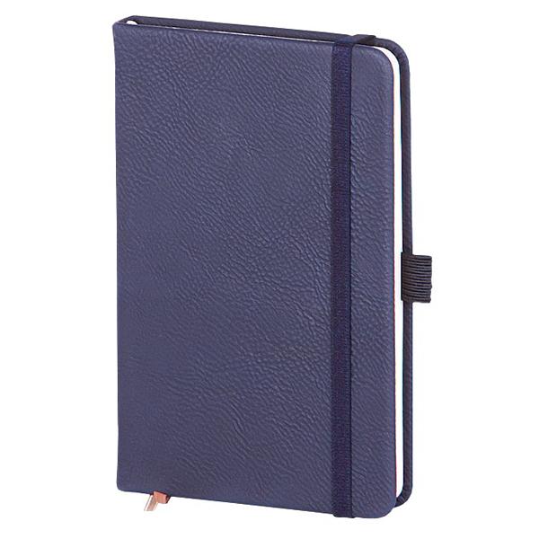 Записная книжка Infolio Gently, А6, 9х14см, 96л, синяя