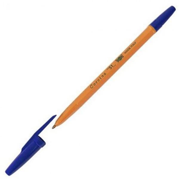 Ручка шариковая UNIVERSAL PROMOTION SPINNING Fluo Lux желтый корпус требует замены стержня