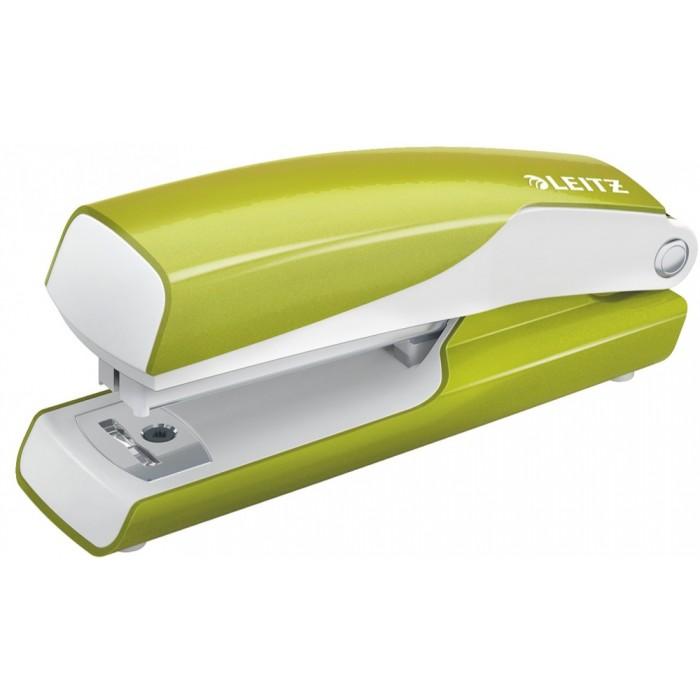 Мини-степлер Leitz WOW NeXXt, № 10, 10л, зеленый металлик