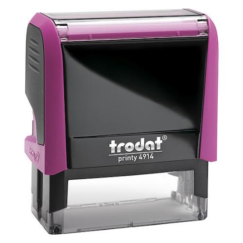 Оснастка для прямоугольной печати Trodat Printy 4914, 64х26мм, фуксия