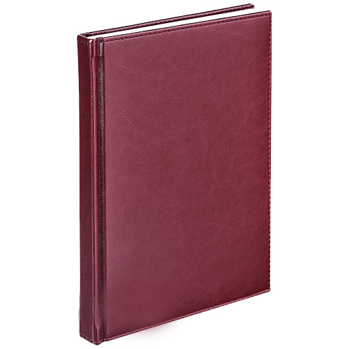 Алфавитная книжка Agenda, 9,2 х 16см, А6, 48 листов, бордовый