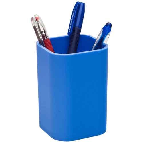 Подставка для ручек Attache, 100х67мм, голубой