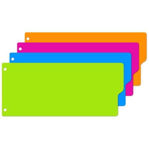 Разделитель листов Attache Selection, цифровой, 10,5х24 см, 12 разделов