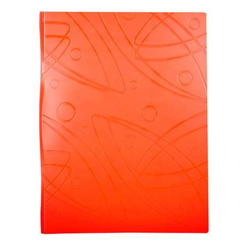 Папка файловая Бюрократ Galaxy GA60OR, на 60 файлов, А4, оранжевая