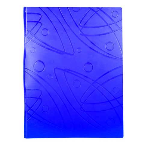 Папка файловая Бюрократ Galaxy GA60BLUE, на 60 файлов, А4, синяя
