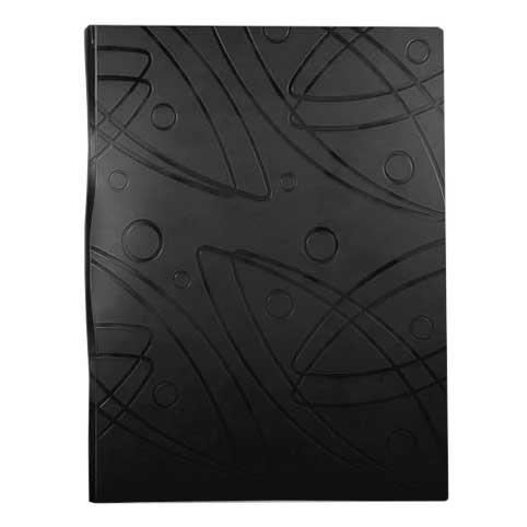 Папка файловая Бюрократ Galaxy GA60BLCK, на 60 файлов, А4, черная