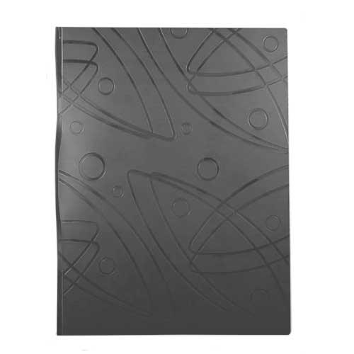 Папка на 2-х кольцах Бюрократ Galaxy GA0727/2RBLCK, А4, 27 мм, черная
