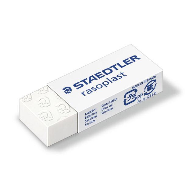 Ластик Staedtler Rasoplast, 526 B45, белый