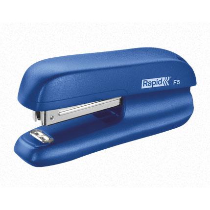 Мини-степлер RAPID F5, № 10, 10л, синий