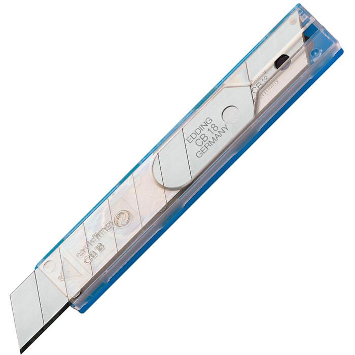 Лезвия сменные Edding CB18, 18 мм, 10 шт/ уп.