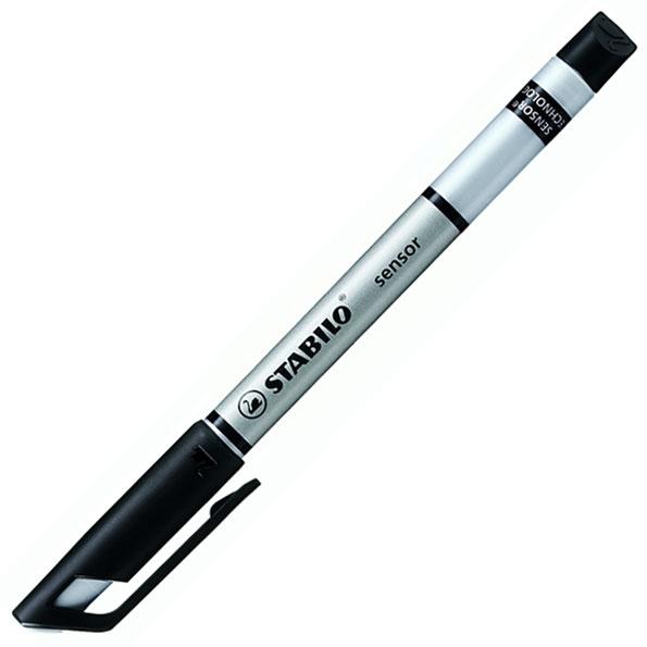 Линер Stabilo Sensor 189, 0,3мм, черный