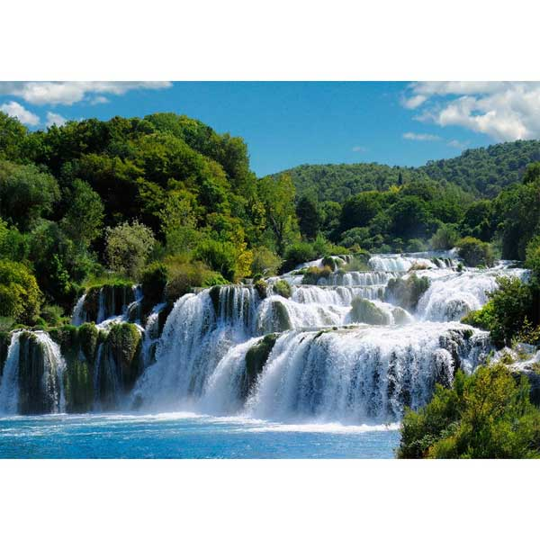 Карманный календарь 2015 7 х 10см, водопад