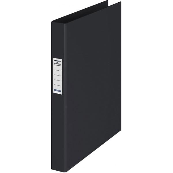 Папка на 2-х кольцах Durable 3130-01, А4, 35 мм, черная, 3130-01