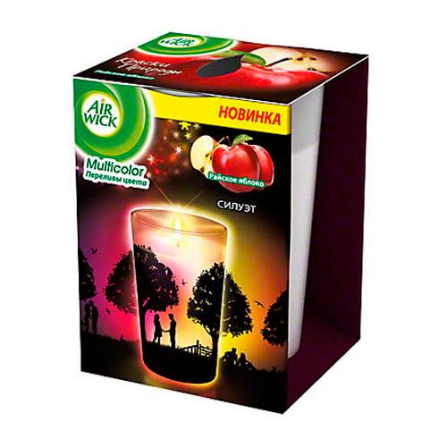 Ароматизированная свеча Airwick Multicolor, райское яблоко 0,152кг