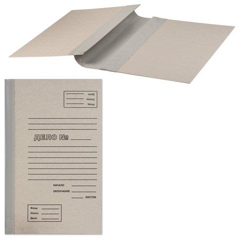 Архивная папка для переплета 71773, А4, 40мм, серая