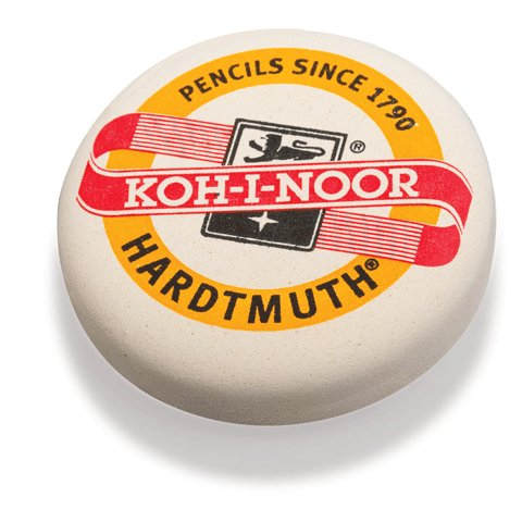 Ластик Koh-I-Noor 6240, d=41 мм, белый