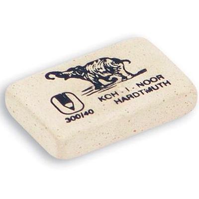 Ластик Koh-I-Noor 300 Слоник 40, белый