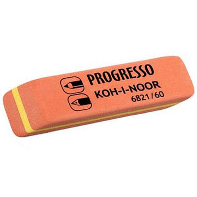Ластик для карандаша и ручки комбинированный Koh-I-Noor Progresso 60, 6821