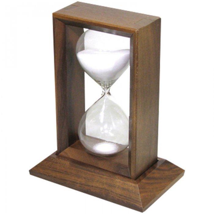 Часы песочные Bestar Diogene, на 23 минуты, орех