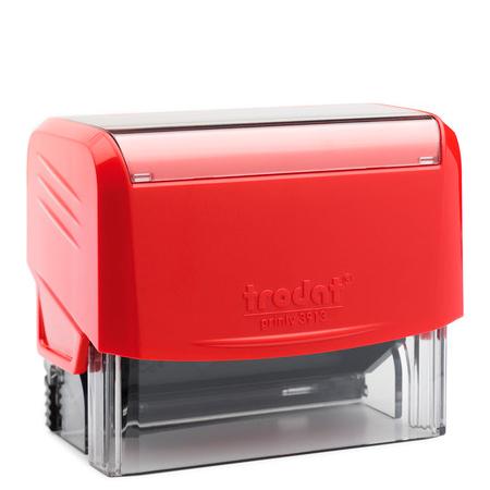 Оснастка для прямоугольной печати Trodat Printy 3913, 58х22мм, красная