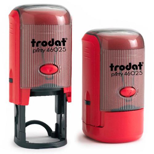 Оснастка для круглой печати Trodat Printy 46025, d=25мм, красная
