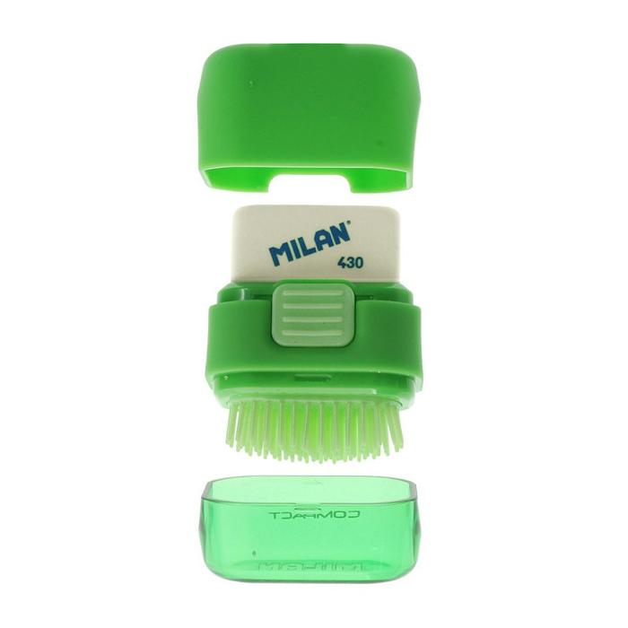 Ластик+щеточка Milan Compact, дисплей