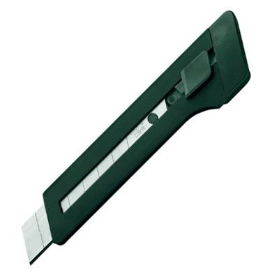 Нож канцелярский Edding Е-M18, 18 мм, черный