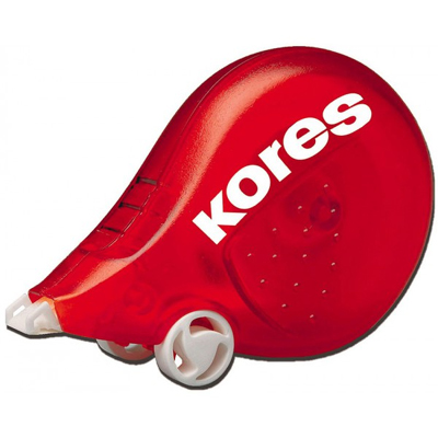 Корректирующий роллер Kores Скутер, 4,2 мм х 5 м, красный