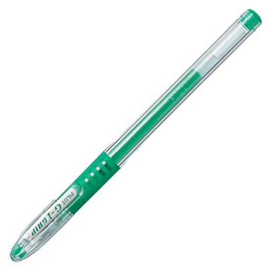Ручка гелевая Pilot BLGP-G1 Grip, 0,3мм, зеленая